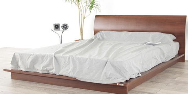 無垢材を使用したベッドの魅力