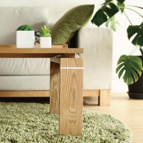 リビングテーブル 無垢 脚