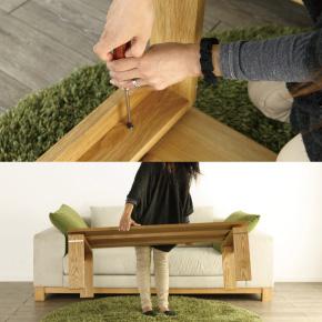 リビングテーブル 組立簡単