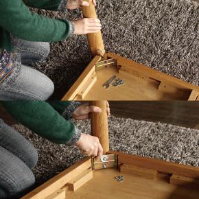 ダイニングテーブル 組立簡単