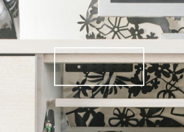 テレビボード 塗装変更