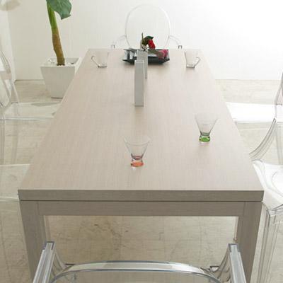ダイニングテーブル オーク ホワイト