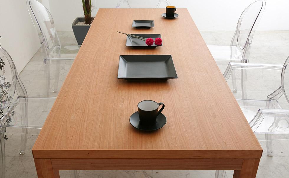 ダイニングテーブル シンプル 天然木
