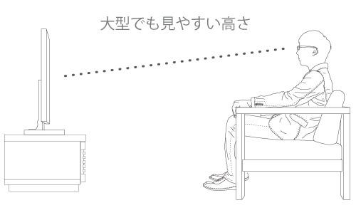 crater テレビボード