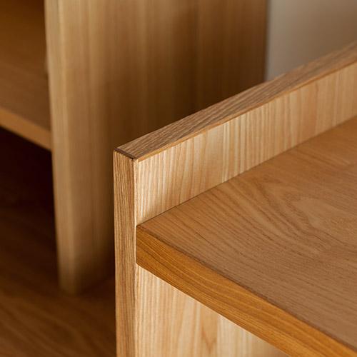 ランドセルラック 木口 面材