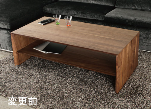 リビングテーブル シェイプ